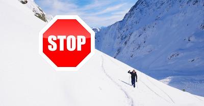 Coronavirus et sorties en montagne : les contrevenants seront sanctionnés