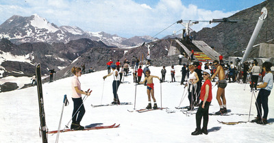 La grande histoire du ski d'été en France : Années 70, la course aux neiges éternelles