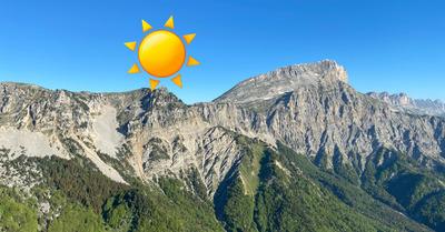 La météo montagne du jeudi : Un weekend magnifique en vue !