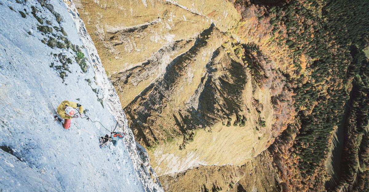 Escalade outdoor : une histoire derrière chaque spit