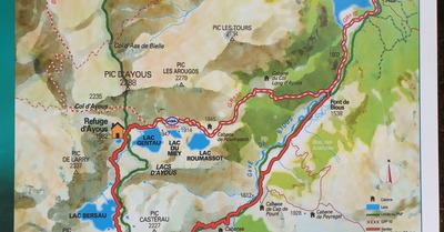 Rando Pau-Vallée d'Ossau: Le tour des lacs d'Ayous