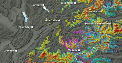 Météo Alpes :   Les chutes de neige font leur retour