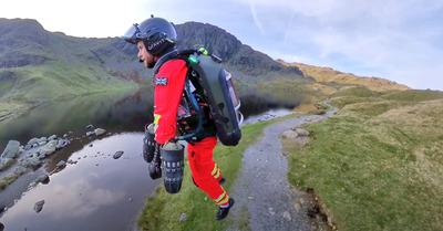 Des Jet Packs pour le secours en montagne?