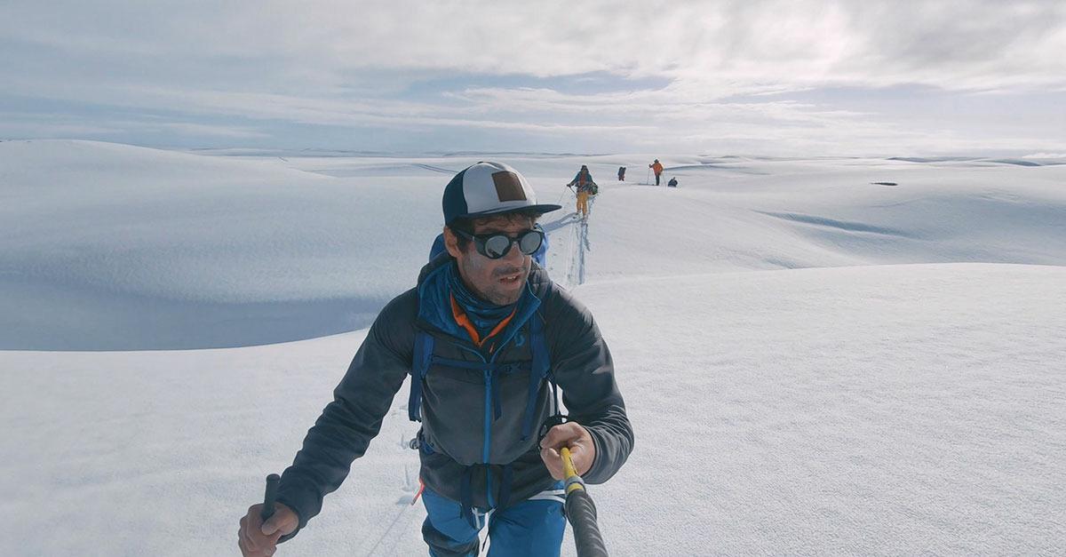 Ski & rafting : Helias Millerioux au Mont Logan