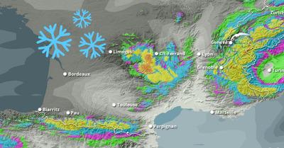 Météo Neige : De grosses quantités de neige pour finir l'année !