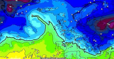 Météo :  Grosse livraison de neige sur l'Est du pays cette semaine