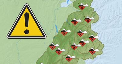 Fort risque d'avalanches sur les Alpes du Nord ce mercredi