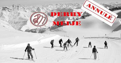 Annulation du Derby de la Meije 2021
