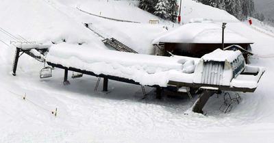 Jusqu'à 80 cm de neige fraîche