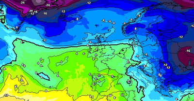 La météo du lundi 18 janvier :  Du beau temps ... avant le retour de la neige !