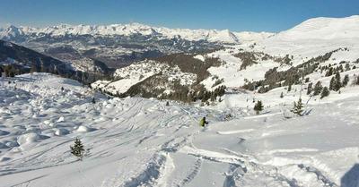 Week-end entre neige fraîche, soleil... et avalanches