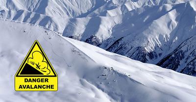 Savoie, Haute-Savoie, Isère et Hautes-Alpes en vigilance Orange Avalanche