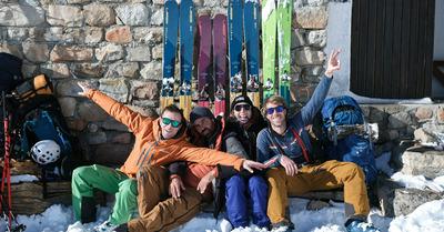 Local Freedom -  a ski & friendship adventure -  Maël Ollivier & friends