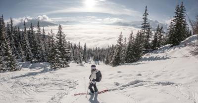 Soleil et neige fraîche dans les Alpes ce week-end
