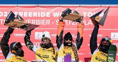 Xtreme de Verbier : coup double pour Haerty, De Le Rue, Gerritzen et Turdell