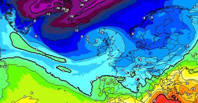La météo du jeudi 1er avril : Retour de l'hiver, de la neige et du froid !