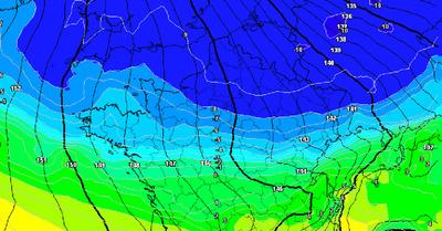La météo du lundi 5 avril : Une semaine sous le froid voire la neige