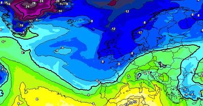 La météo du jeudi 8 avril : Et maintenant d'abondantes chutes de neige?