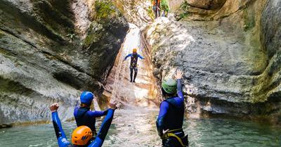 Sensations fortes dans le canyon des Écouges