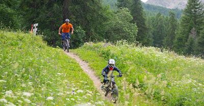 Bike park de Puy Saint Vincent :   idéal à faire en famille !