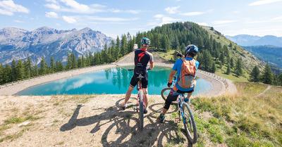 VTT sportif en haute montagne, venez rouler à Puy Saint Vincent