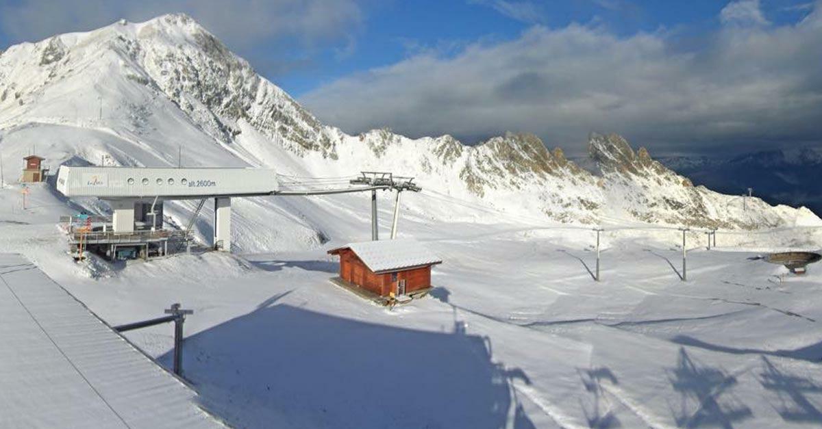 La neige est là ! Vivez un réveil en montagne en photos