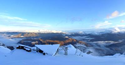 Météo :Arrivée de la neige en montagne !