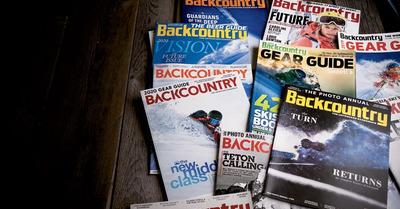 Backcountry magazine arrive en France