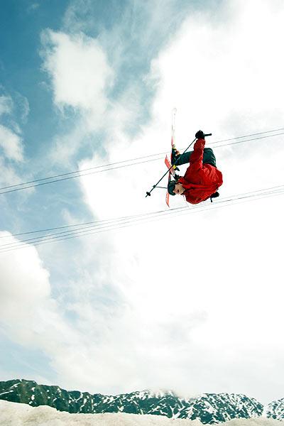 Malgré les apparences, il y a AUSSI du ski aux Freeride Dayz...