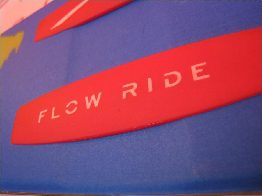 Détail du flow ride