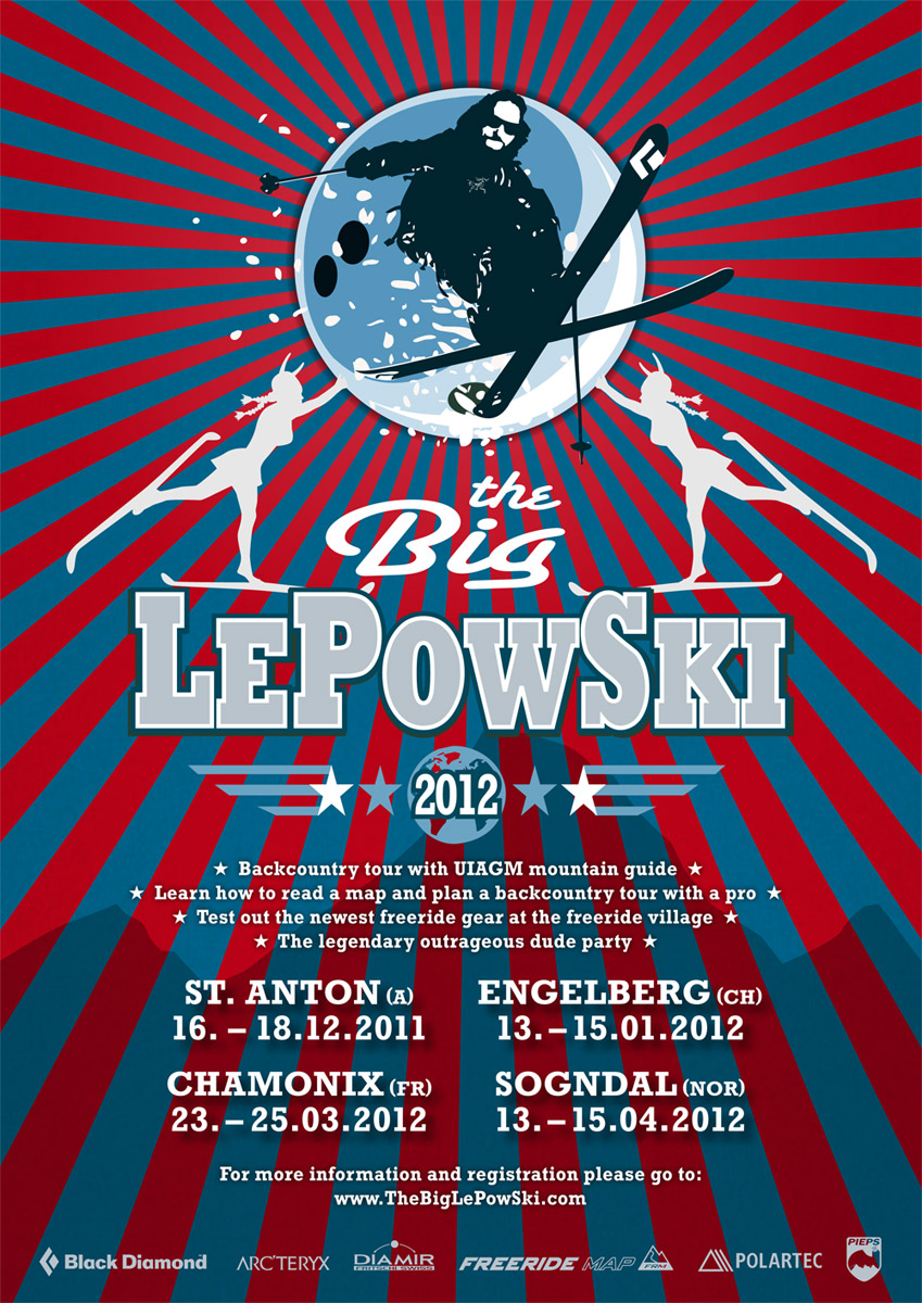 The Big LePowSki à Chamonix