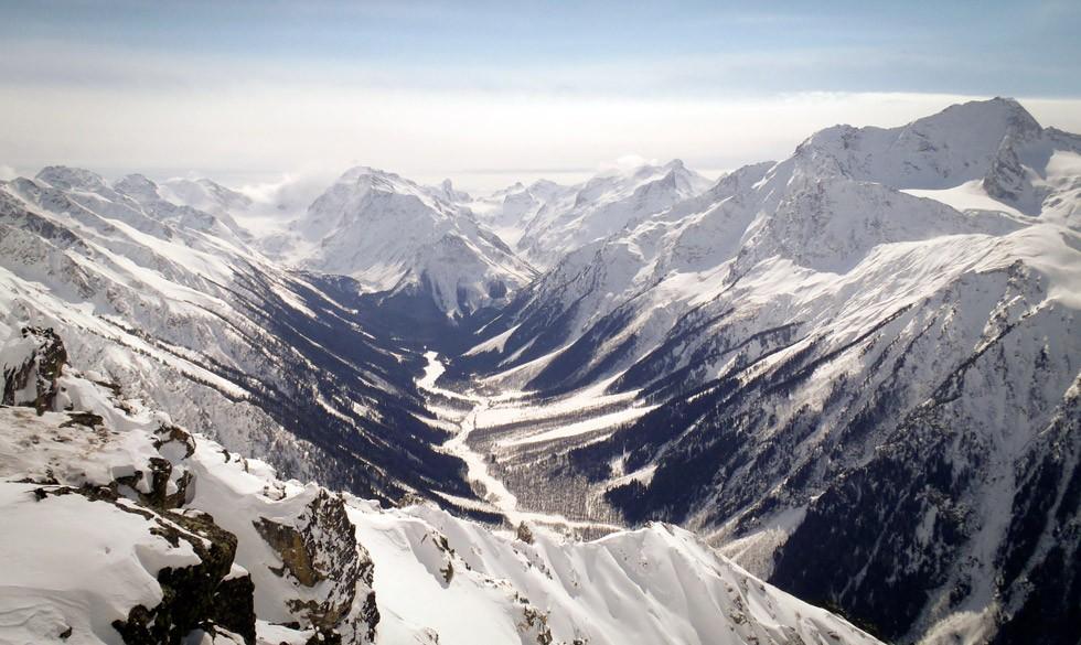 Le Caucase, majestueux