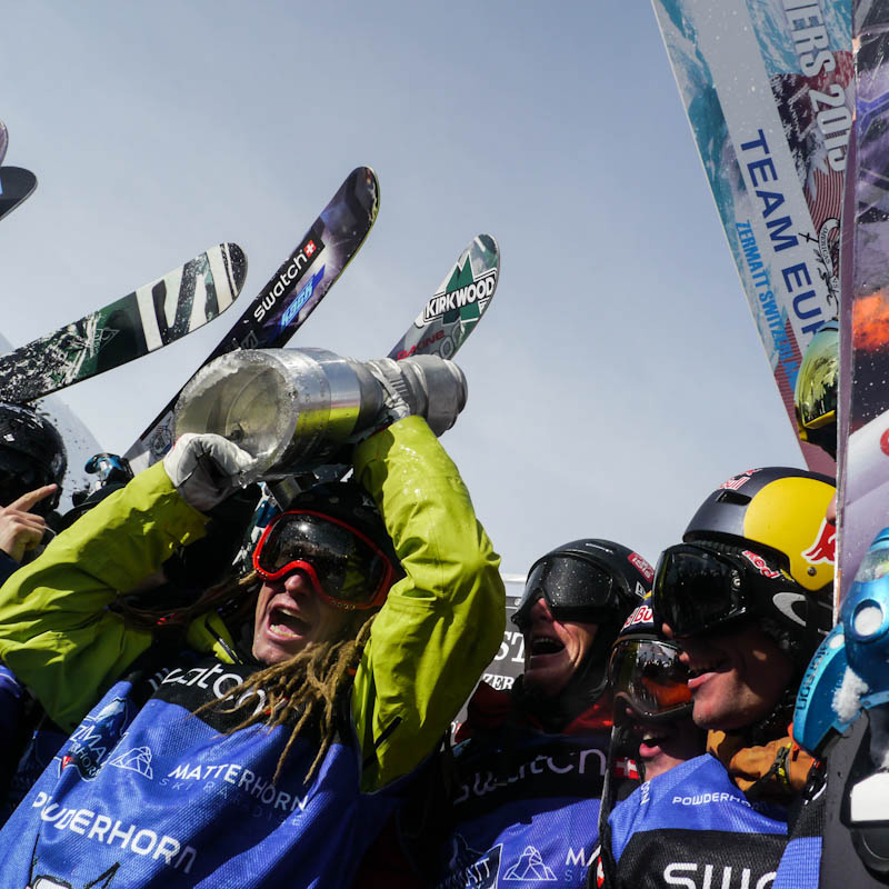 Swatch Skiers Cup : team Europe gagne