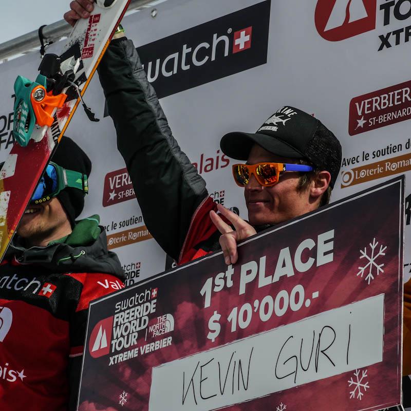 Kevin Guri gagne l'XTrem Verbier
