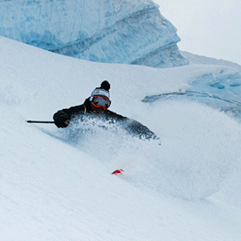 Le ski en .gif