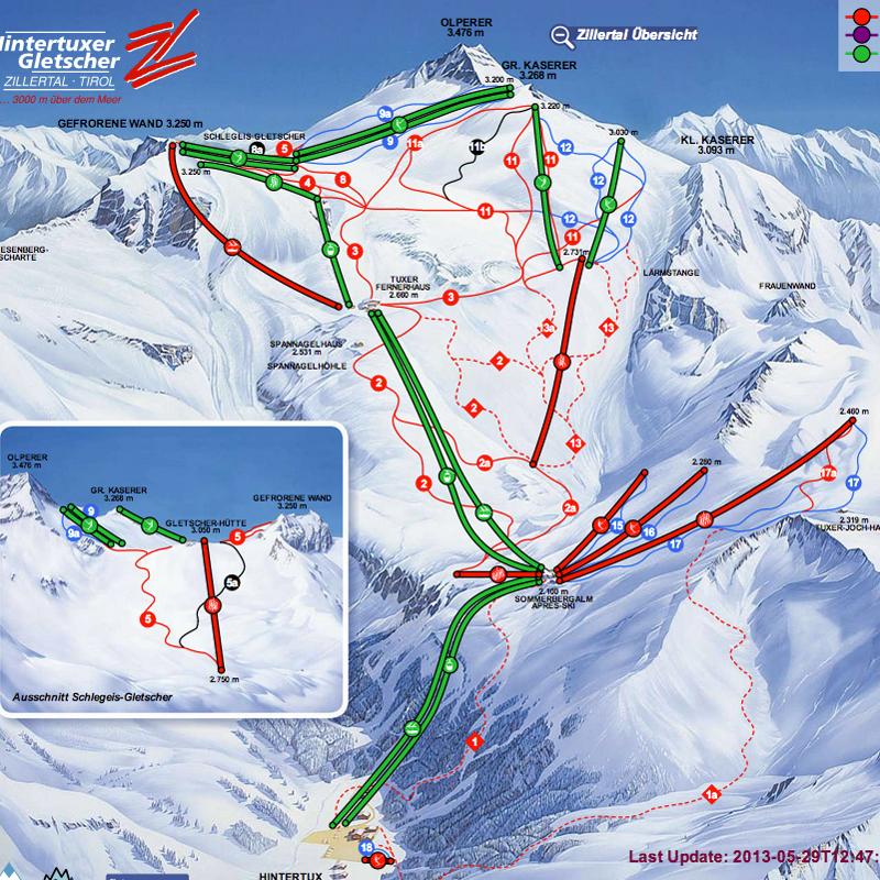 Où skier ce week end du 1 et 2 juin 2013?