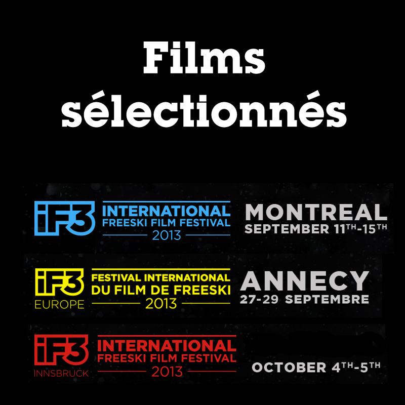 iF3 : films sélectionnés