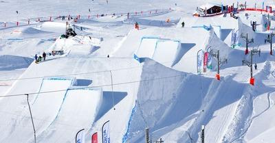 Quoi de neuf dans les snowparks?