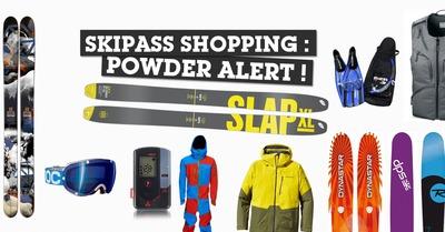 Shopping Powder Alert