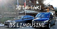 Jo le Taxi. BS Limousine Megève