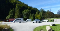Parking du camping