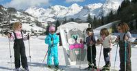 """Cours de ski - Garderie - Repas avec """"Les P'tits Bouts de Glisse"""""""