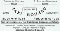 Taxi Bouzac