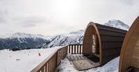 Les Montan'Igloo, cabanes igloos en bois