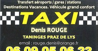 Taxi Denis Rouge