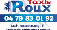 Taxis Roux Pascal et Christine