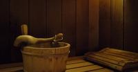 Sauna à l'hôtel les Glières