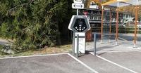 Borne de rechargement de véhicules éléctriques