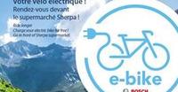 Borne de recharge pour vélo électrique