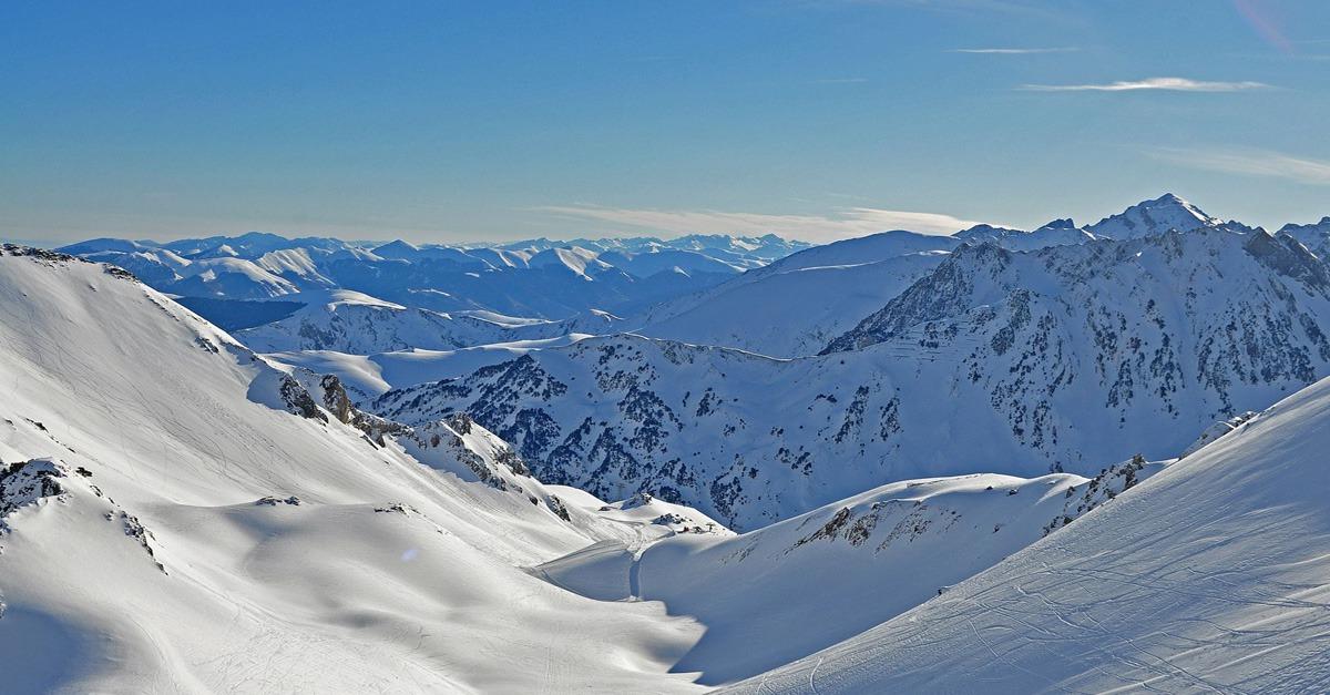 station de ski Grand Tourmalet (Barèges - La Mongie)